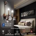 Deals List:  4-Pack Albrillo Candelabra LED Light Bulb