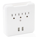 Deals List: 1byhome Wall Mount Charger, Multi-functional Socket Wall Tap