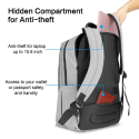 Deals List: OMOTON Business Laptop Backpack 17.3-inch Anti-theft