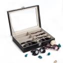 Deals List: CO-Z Leather Box Eyeglasses Eyewear Organizer
