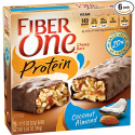 Deals List: Fiber One Protein Bar, Coconut Almond Chewy Bars, 5 Fiber Bars, 5.85 oz (Pack of 6)