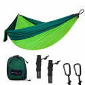 Deals List:  SHINE HAI Double Camping Hammock Portable Parachute