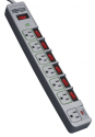 Deals List: Tripp Lite 7 Outlet (6 Individually Controlled) Surge Protector Power Strip, 6ft Cord, Lifetime Limited Warranty & $25K INSURANCE (TLP76MSG)
