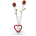 Deals List: Forever Glass Rose Flowers for Valentines Day Gifts