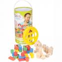 Deals List: Spark Create Imagine™ Wooden Blocks 150 pc. Canister