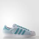 Deals List: adidas Superstar adiColor Men's Shoes (white/teal)
