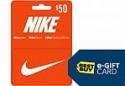 Deals List: $50 Nike Gift Card + $10 Best Buy eGift Card