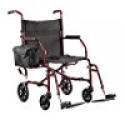 Deals List: Walgreens Ultra-Light Weight Transport Chair Burgundy