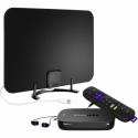 Deals List:  Roku Ultra Streaming 4K Media Player + Rocketfish HDTV Antenna f