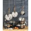 Deals List: Cuisinart Onyx Black & Rose Gold 12-Pc Stainless Steel Cookware Set