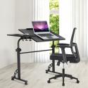 Deals List:  LANGRIA Portable Laptop Desk Black Sofa Bedside Table