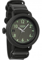 Deals List: Nixon Men's A279-001-00 October Leather 48.5mm All Black Watch