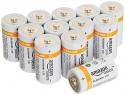 Deals List: AmazonBasics D Cell Everyday Alkaline Batteries (12-Pack)