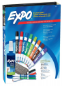 Deals List: EXPO 80054 Low-Odor Dry Erase Markers, Chisel Tip, Assorted Colors, 15-Piece Set