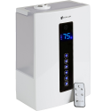 Deals List: Avalon Premium 5 Liter Ultrasonic Digital Humidifier - Cool/Warm Mist, Adjustable Humidity Levels, Remote, Filter, Nightlight,With Pure Silent Technology, ETL Approved