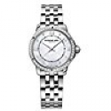 Deals List: Raymond Weil Noemia Mother of Pearl Diamond-Studded Dial Watch