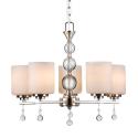 Deals List:  CO-Z Brushed Nickel 5 Light Chandelier Lighting