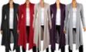 Deals List:  Women's Knee-Length Hacci Cardigan
