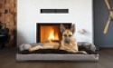 Deals List: Insulating Sofa-Style Fiber Filled Pillow Dog Bed Small