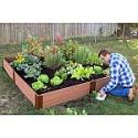 """Deals List: Classic Sienna Raised Garden Bed 8' x 8' x 11"""" - 1"""" Profile"""