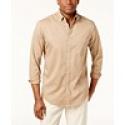 Deals List:  Club Room Mens Adams Solid Shirt