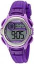 Deals List: Armitron Sport Women's 45/7070PUR Lavender Accented Digital Purple Resin Strap Watch
