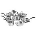 Deals List: Oneida 13-pc. Stainless Steel Cookware Set