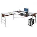 Deals List: Realspace Mezza L-Shaped Glass Computer Desk