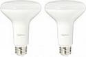 Deals List: AmazonBasics 65 Watt Equivalent, Soft White, Dimmable, BR30 LED Light Bulb - 2-Pack