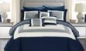 Deals List: Colorblock or Reversible Geometric Pattern Comforter Sets 10-Piece