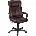 Deals List: Staples Turcotte Luxura High Back Office Chair, Brown