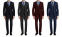 Deals List:  Braveman Mens Slim Fit Suits 3-Piece