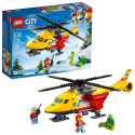 Deals List: LEGO City Great Vehicles Ambulance Helicopter 60179 Building Kit (190 Piece)