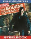 Deals List: The Bourne Supremacy 2 Discs UltraViolet SteelBook Blu-ray/DVD