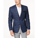 Deals List: Michael Kors Men's Classic-Fit Blue & Gray Plaid Sport Coat