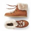 Deals List: Gap Cozy faux suede hiker boots