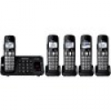 Deals List: Panasonic Expandable Cordless Phone w/ 5 Handsets KX-TGE445B