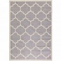 Deals List: Berrnour Home Contemporary Moroccan Trellis Gray 7 ft. 10 in. x 9 ft. 10 in. Area Rug