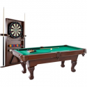 Deals List:  Barrington 90 Inch Ball and Claw Leg Billiard Pool Table