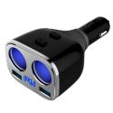 Deals List:  Otium 2-Socket Cigarette Lighter Adapter Socket Splitter Switch