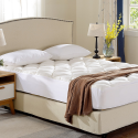 Deals List: Cheer Collection Ultra Plush Eco-friendly Hypoallergenic Bamboo Fitted Mattress Topper - Full