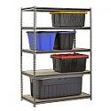 """Deals List: Muscle Rack 5-Shelf Heavy-Duty Steel Shelving (48""""W x 24""""D x 72""""H)"""