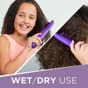 Deals List: Remington DT7432 Wet or Dry Tame The Mane Electric Detangling Brush with Brush Cover, Adults & Kids, (Batteries Included)