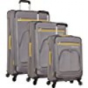Deals List:  Nautica Brooklyn Bay 3 Piece Expandable Spinner Luggage Set