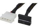 Deals List: Coboc Model 12-inch Molex 4-pin LP4 Male to SATA Power Cable