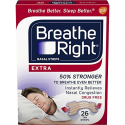 Deals List: Breathe Right Extra Strength Tan Drug-Free Nasal Strips Snoring Remedy, 26 count