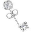 Deals List:  TruMiracle Diamond Stud Earrings (1/2 ct. t.w.) in 14k Gold