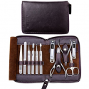 Deals List: FAMILIFE L01 11 in 1 Stainless Steel Manicure Set with Box