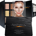 Deals List: Aesthetica Cosmetics Contour Kit - Powder Contour, Highlighter & Bronzer - Fair to Medium Skin Tones