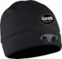 Deals List: Panther Vision - Geek Squad POWERCAP LED Lined Fleece Beanie - Black